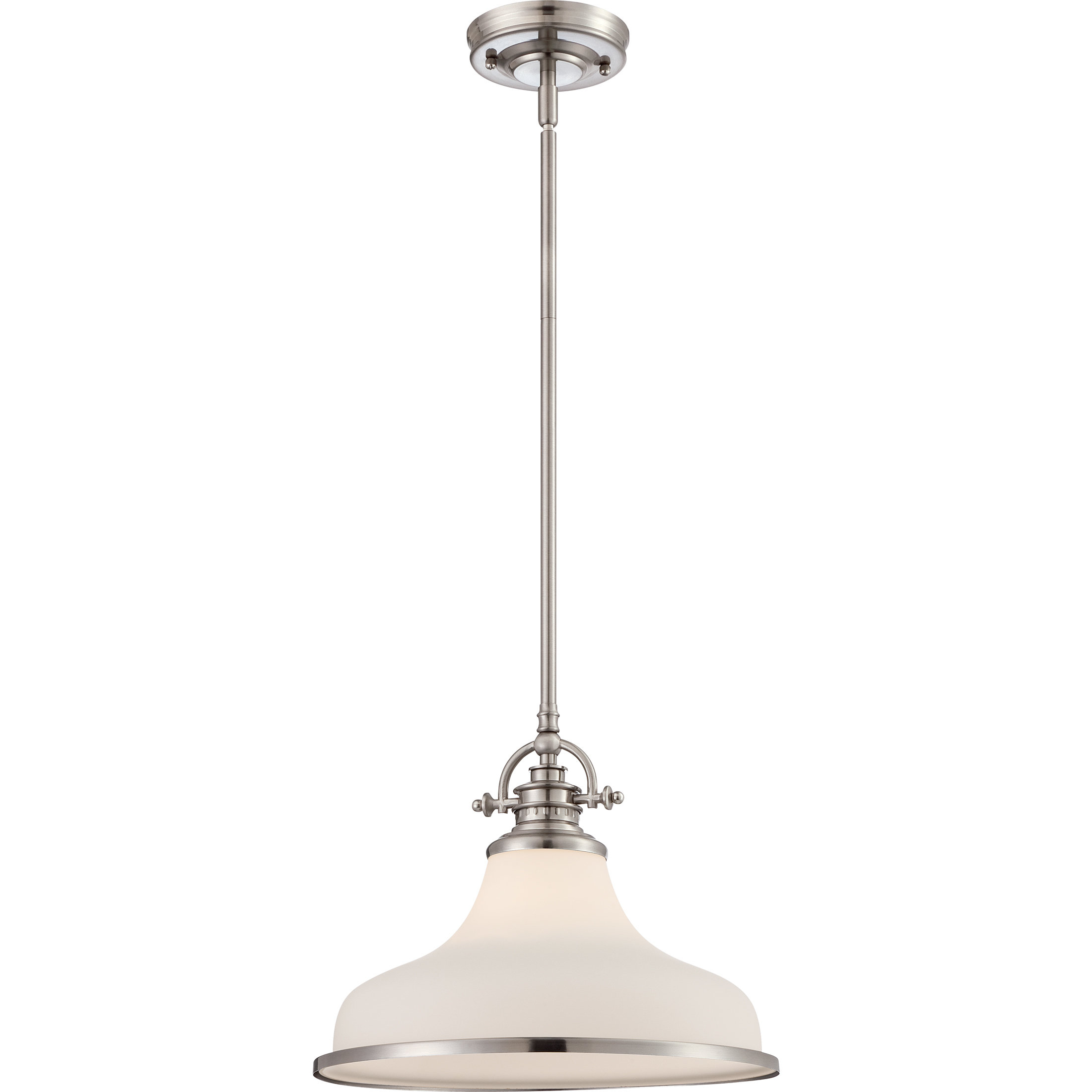 Most Recent Miltiades 1 Light Single Dome Pendant With Mueller 1 Light Single Dome Pendants (Gallery 9 of 20)