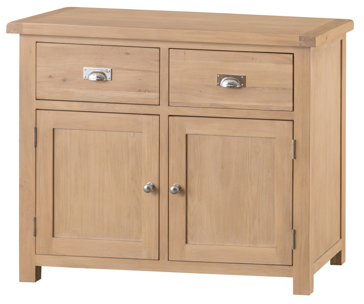 Most Recent Norton Sideboards Pertaining To Cardiff Oak Small Sideboard – Sideboards & Tops – Dining (View 7 of 20)