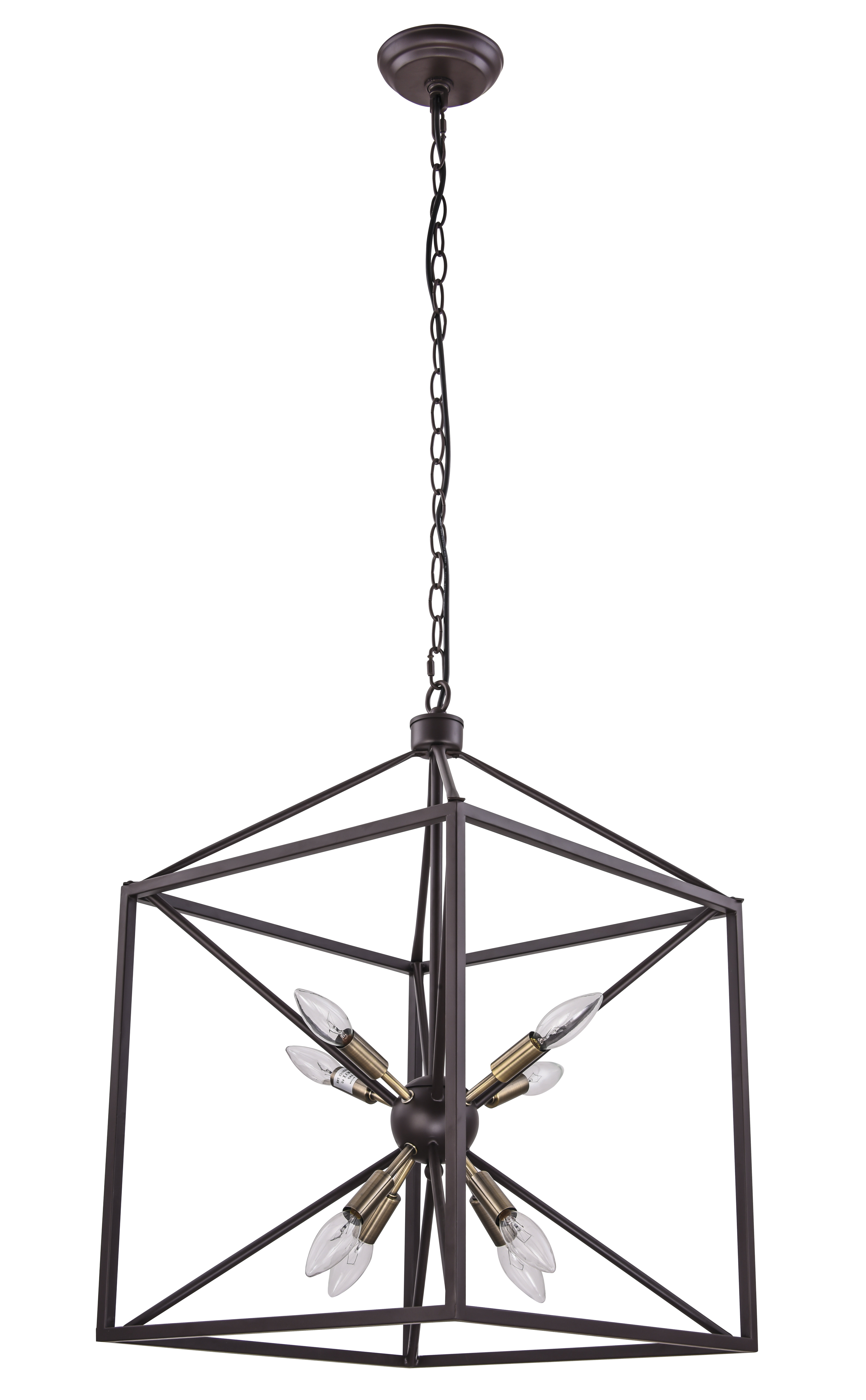Most Recent Odie 8 Light Lantern Square / Rectangle Pendants With Weeden 8 Light Lantern Square / Rectangle Pendant (View 9 of 20)