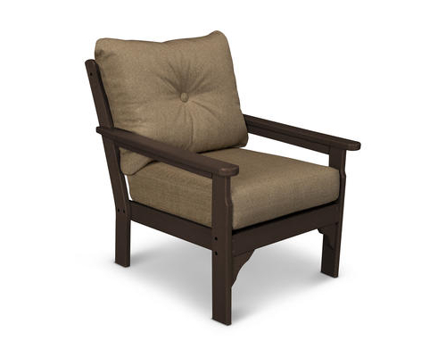 Most Recent Vineyard Deep Seating Sofas Pertaining To Polywood® Vineyard Deep Seating Patio Chair At Menards® (View 5 of 20)