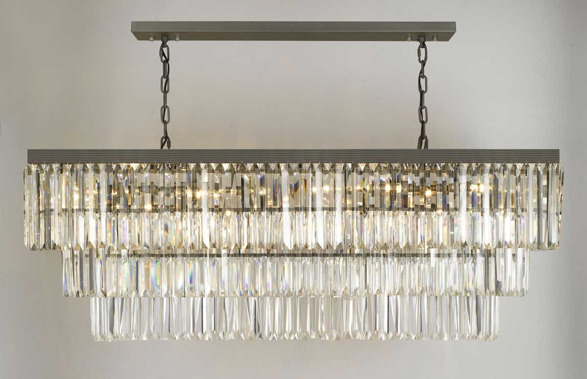 Most Recent Whitten 4 Light Crystal Chandeliers In G902 1156/12 Gallery Closeout Retro Odeon Glass Fringe (Gallery 15 of 20)