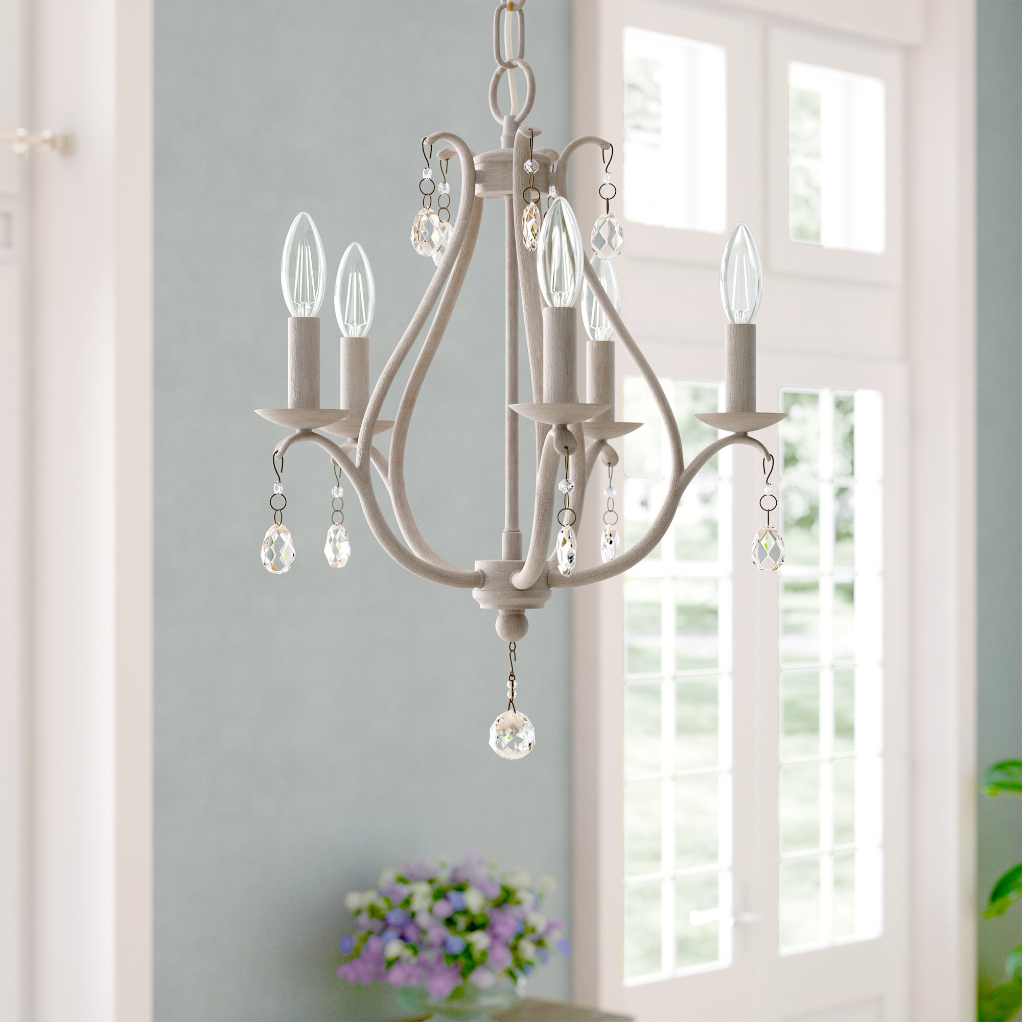 Most Recently Released Blanchette 5 Light Candle Style Chandeliers Intended For Palumbo 5 Light Candle Style Chandelier (View 7 of 20)