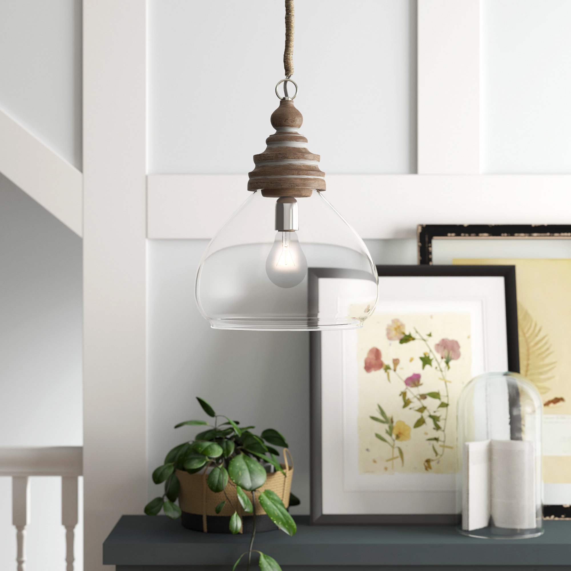 Most Recently Released Brisa 1 Light Single Dome Pendant With Regard To Mueller 1 Light Single Dome Pendants (View 10 of 20)