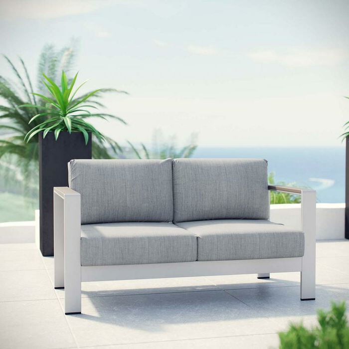 Featured Photo of Bristol Loveseats With Cushions