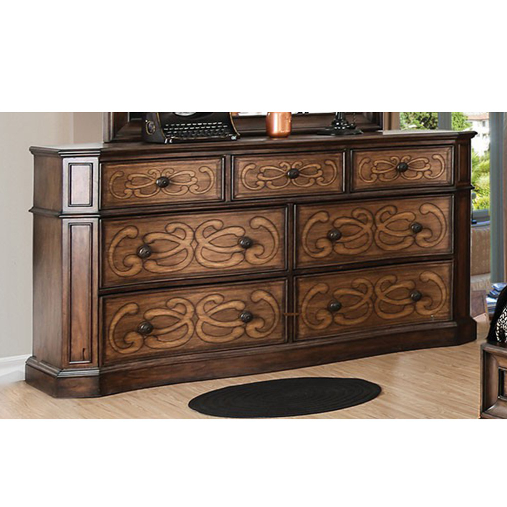 Most Recently Released Emmaline Sideboards Intended For Emmaline Dresser In Chestnut (Gallery 12 of 20)