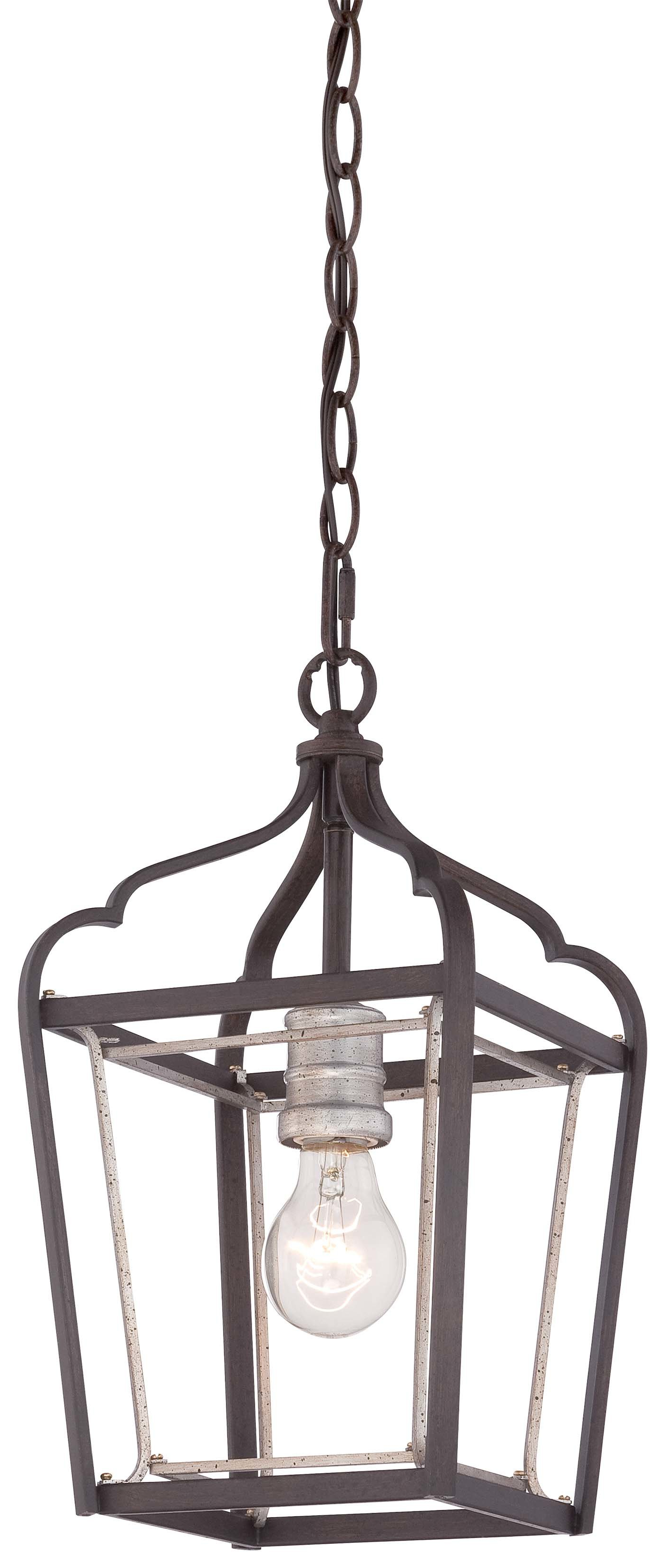 Most Recently Released Evangeline 1 Light Lantern Geometric Pendant Regarding Sherri Ann 3 Light Lantern Square / Rectangle Pendants (Gallery 19 of 20)