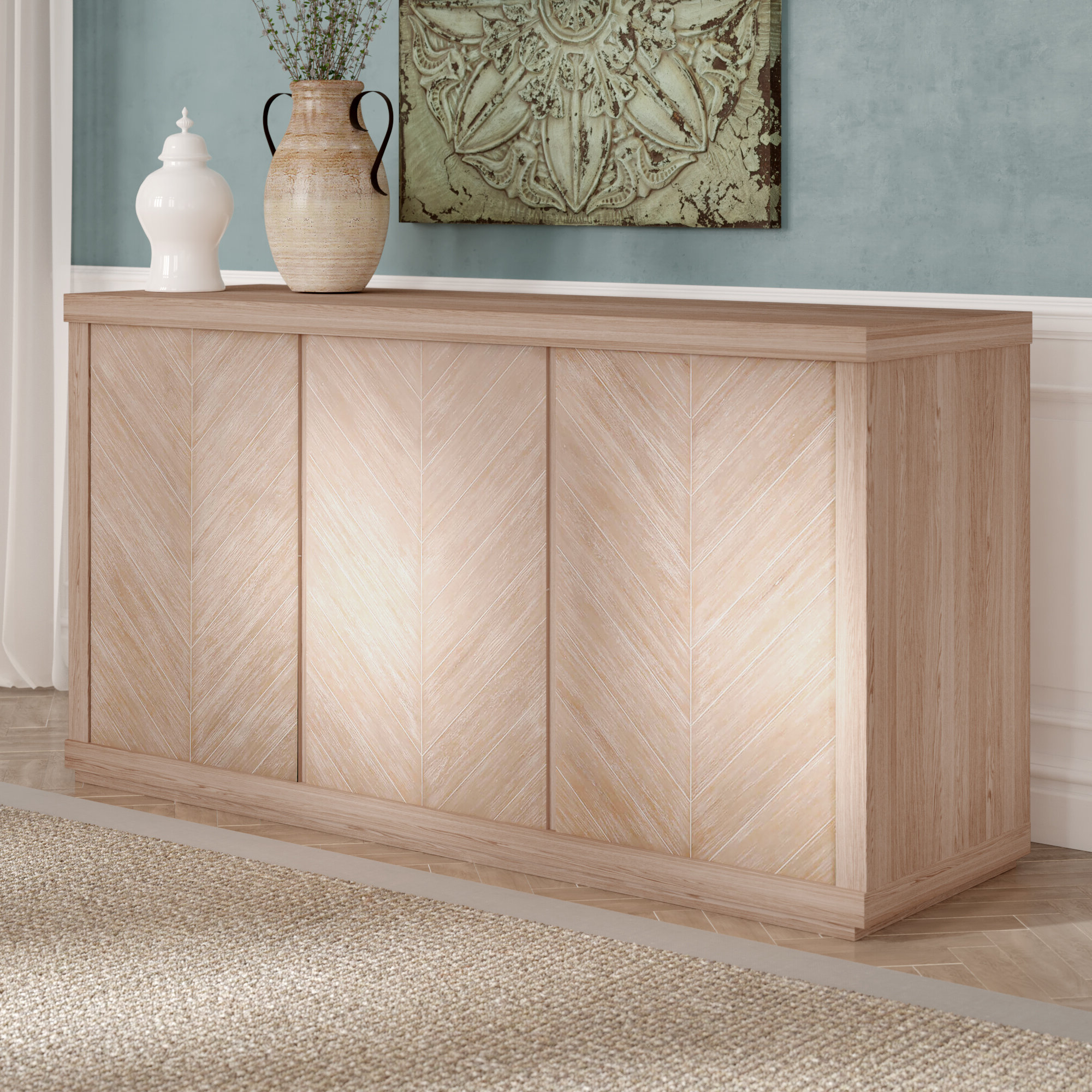 Most Recently Released Filkins Sideboards Pertaining To Sidonie Media Sideboard (View 17 of 20)