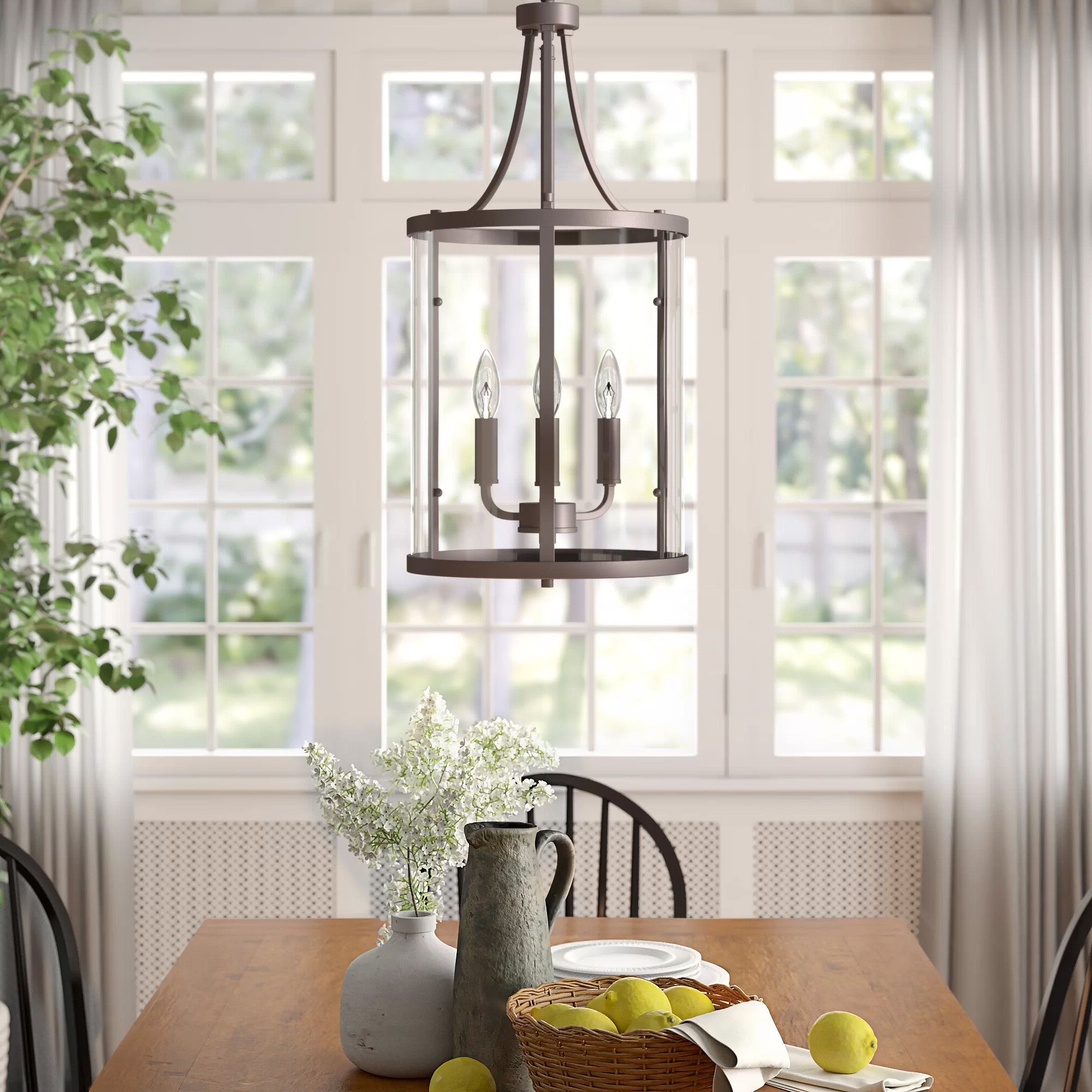 Most Recently Released Finnick 3 Light Lantern Pendants With 3 Light Lantern Cylinder Pendant (View 17 of 20)