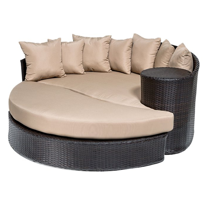 Most Recently Released Freeport Patio Daybed With Cushion With Freeport Patio Daybeds With Cushion (View 14 of 20)