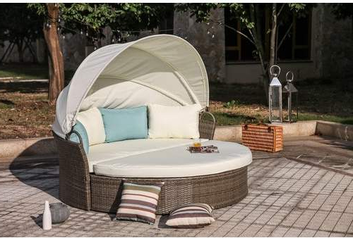 Most Recently Released Harlow Patio Daybed With Cushions (View 13 of 20)