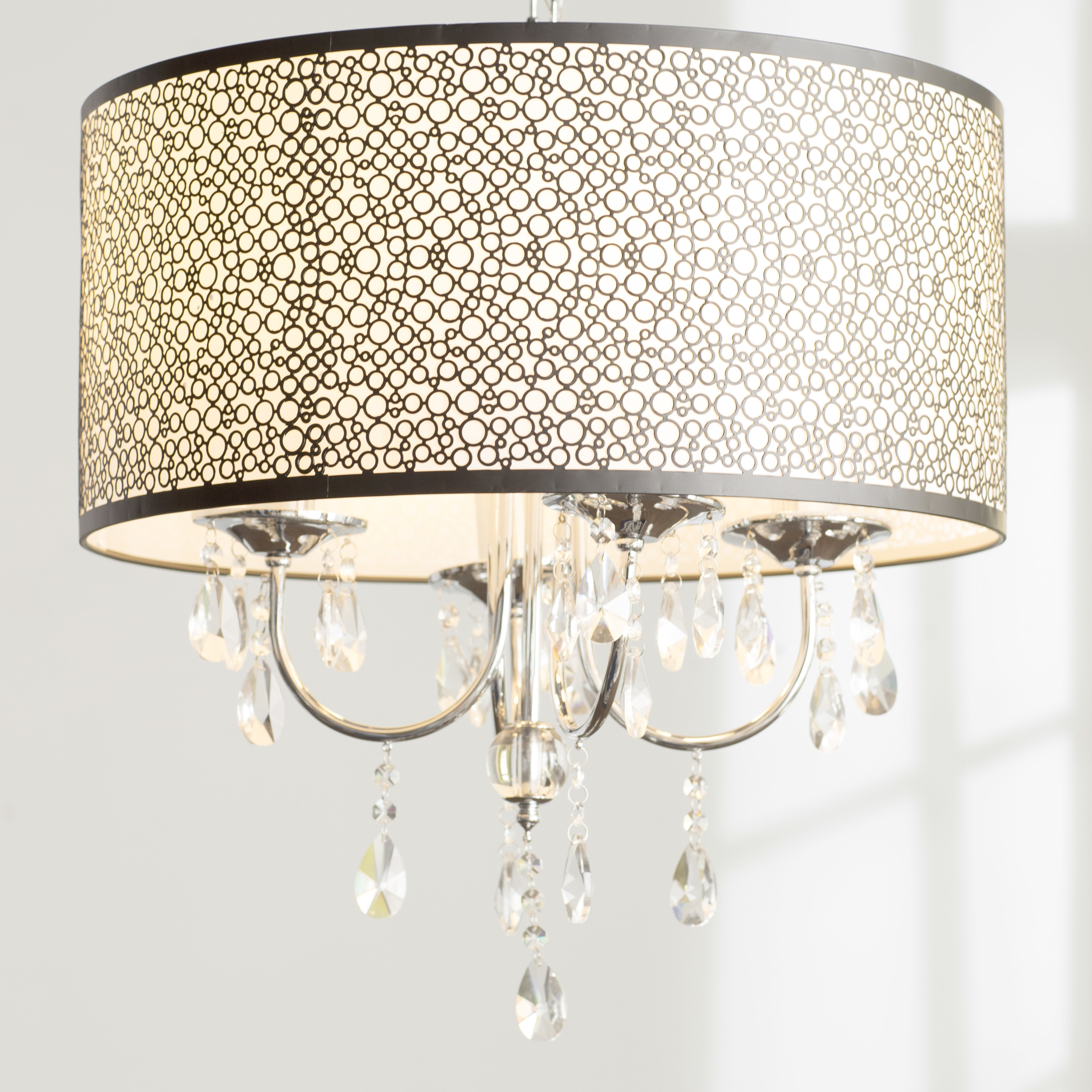 Most Recently Released Horsham 4 Light Chandelier Inside Jill 4 Light Drum Chandeliers (View 18 of 20)