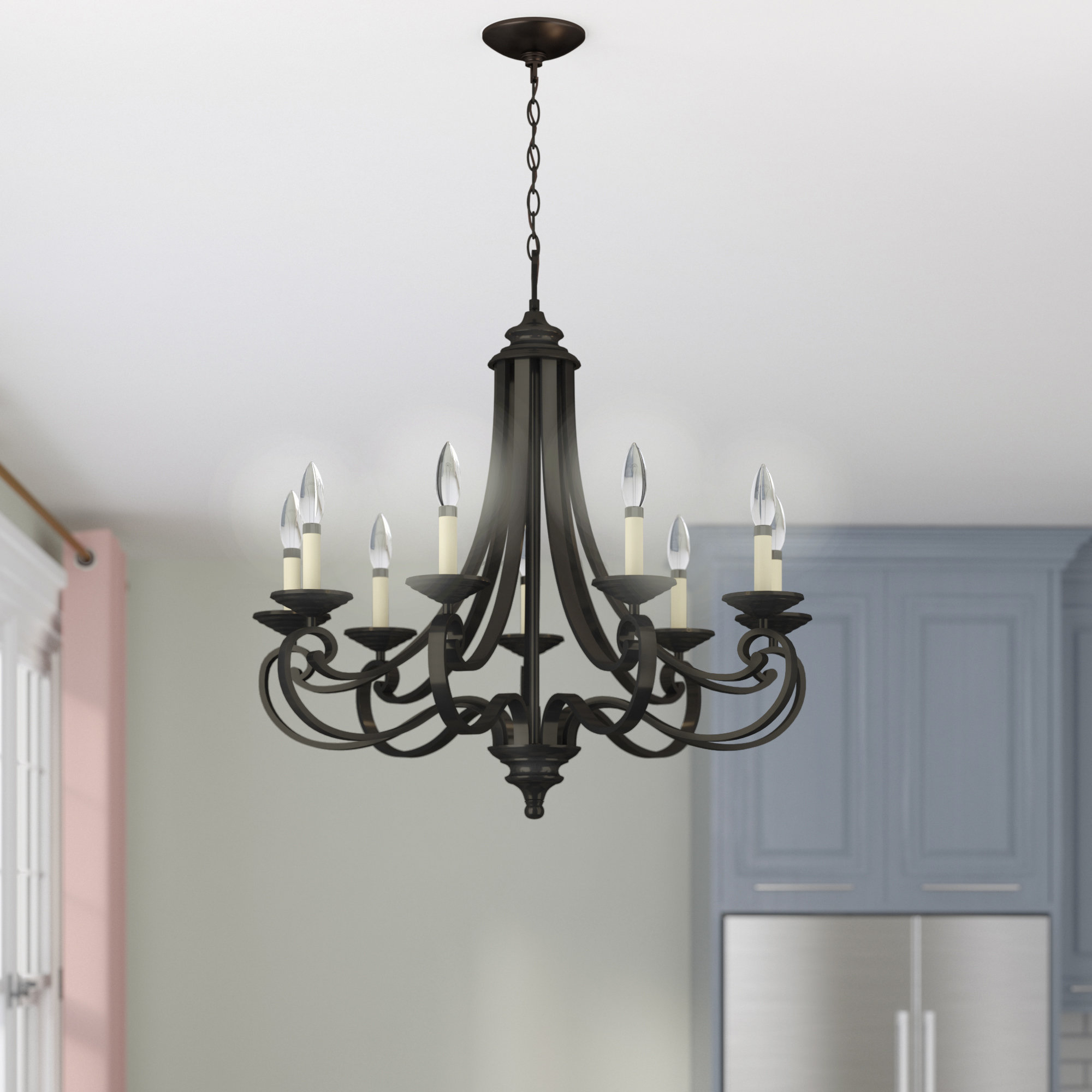 Most Recently Released Mcknight 9 Light Chandeliers Intended For Mcknight 9 Light Chandelier (View 12 of 20)