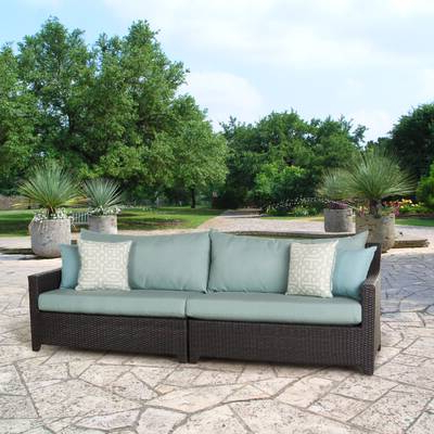 Most Recently Released Northridge 5 Piece Conversation Set With Cushions Pertaining To Northridge Patio Sofas With Sunbrella Cushions (Gallery 2 of 20)