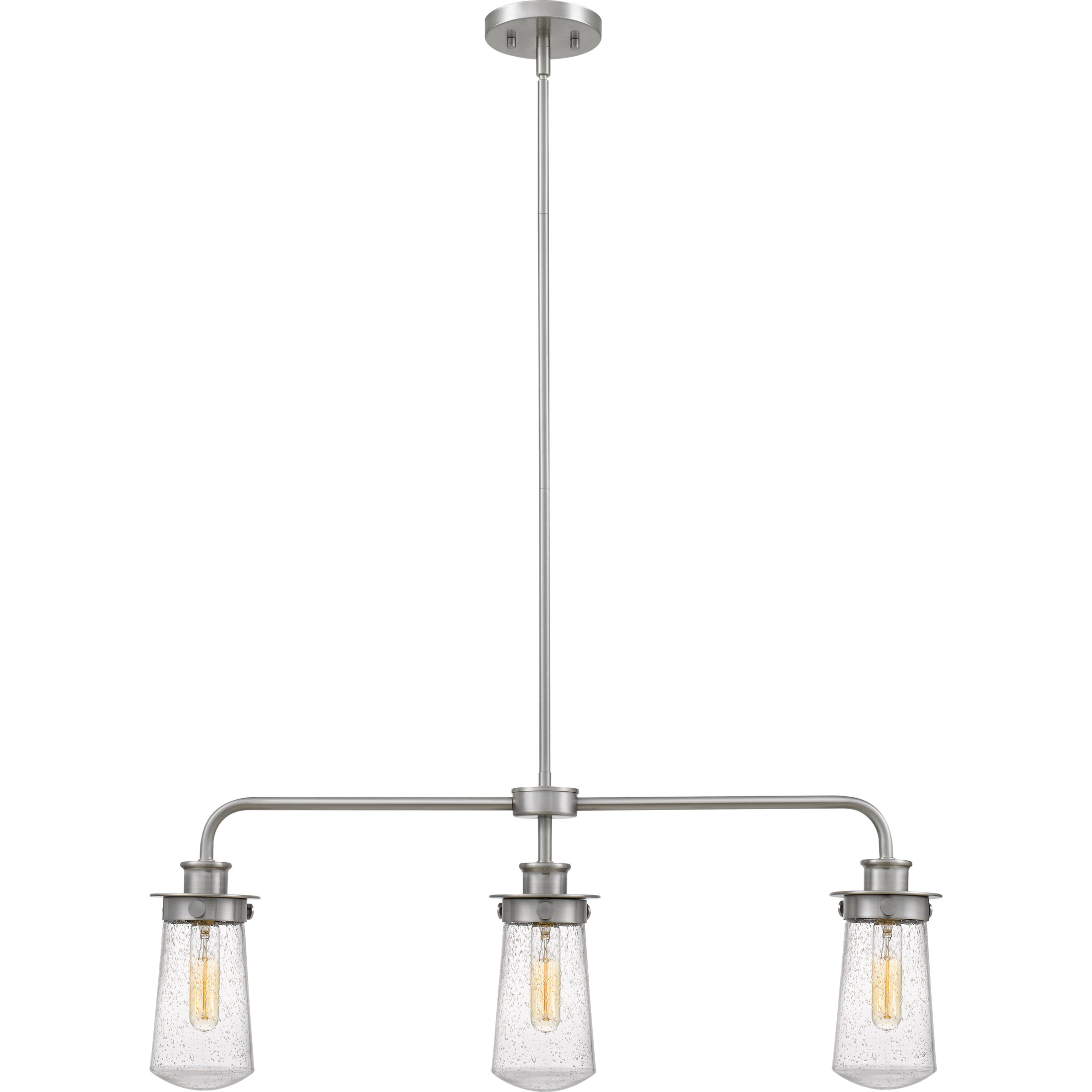 Most Recently Released Simsbury 3 Light Kitchen Island Linear Pendant In Cinchring 4 Light Kitchen Island Linear Pendants (View 13 of 20)