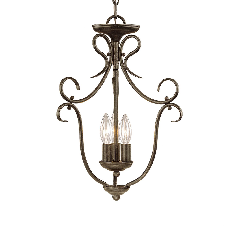 Most Recently Released Stotfold 3 Light Foyer Pendant Regarding Warner Robins 3 Light Lantern Pendants (View 10 of 20)