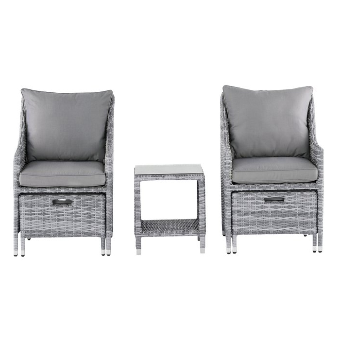 Most Recently Released Vallauris Sofa With Cushions With Regard To Vallauris 5 Piece Conversation Set With Cushions (View 8 of 20)