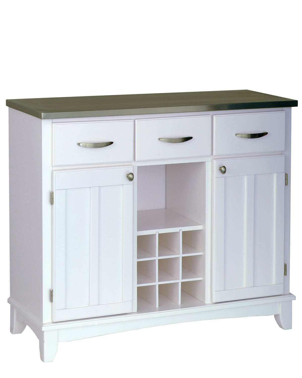 Most Up To Date Baleine 3 Drawer Sideboards Regarding Andover Mills Presswood 3 Drawer Server (View 13 of 20)