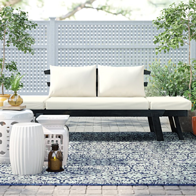 Featured Photo of Beal Patio Daybeds With Cushions