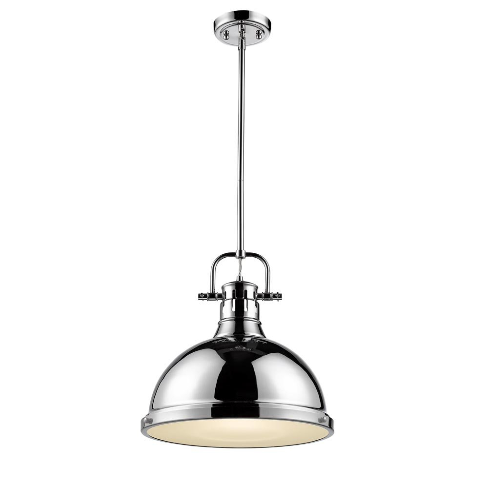 Most Up To Date Bodalla 1 Light Single Bell Pendants Inside Bodalla 1 Light Single Dome Pendant (View 15 of 20)