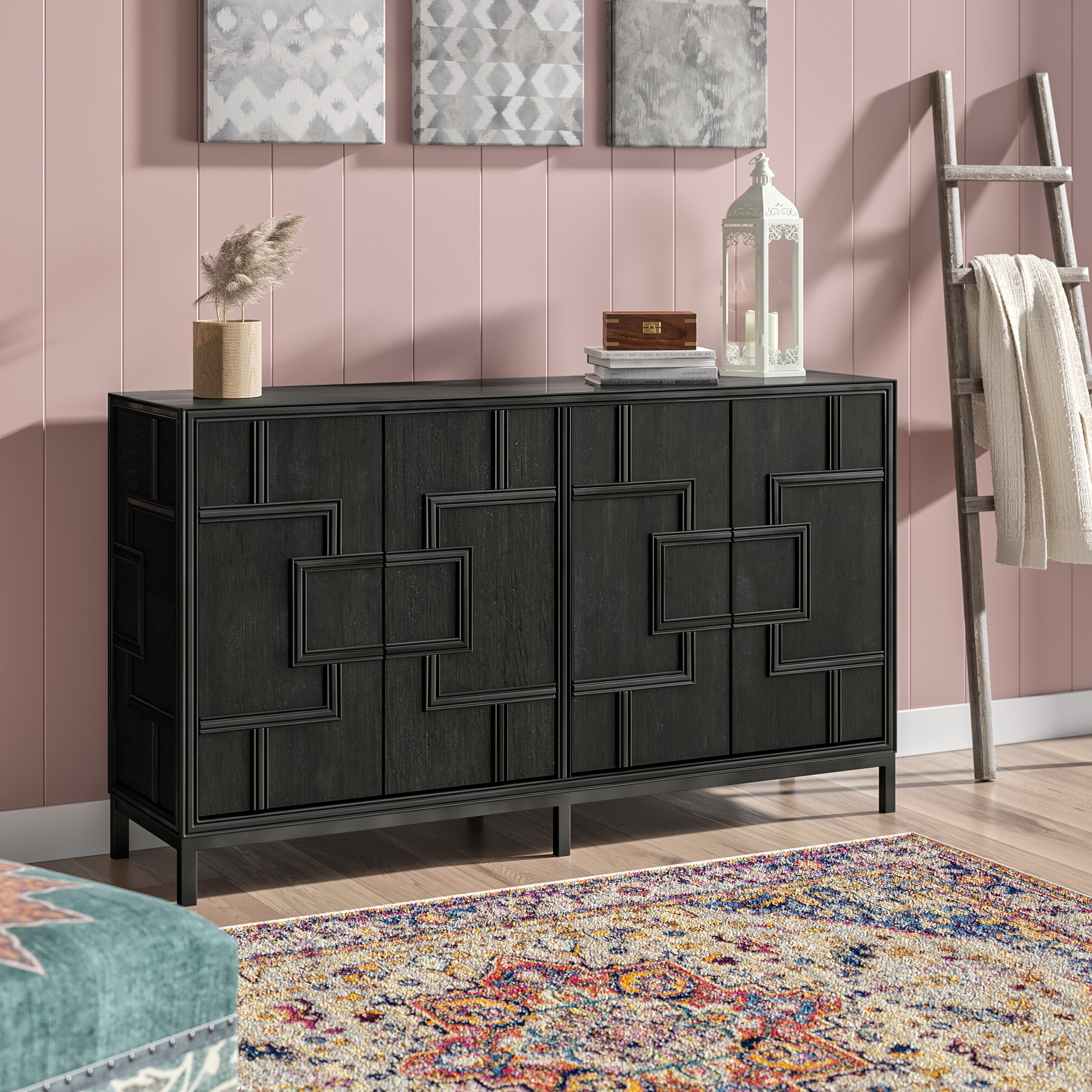Most Up To Date Candide Wood Credenzas Pertaining To Candide Wood Credenza (Gallery 2 of 20)