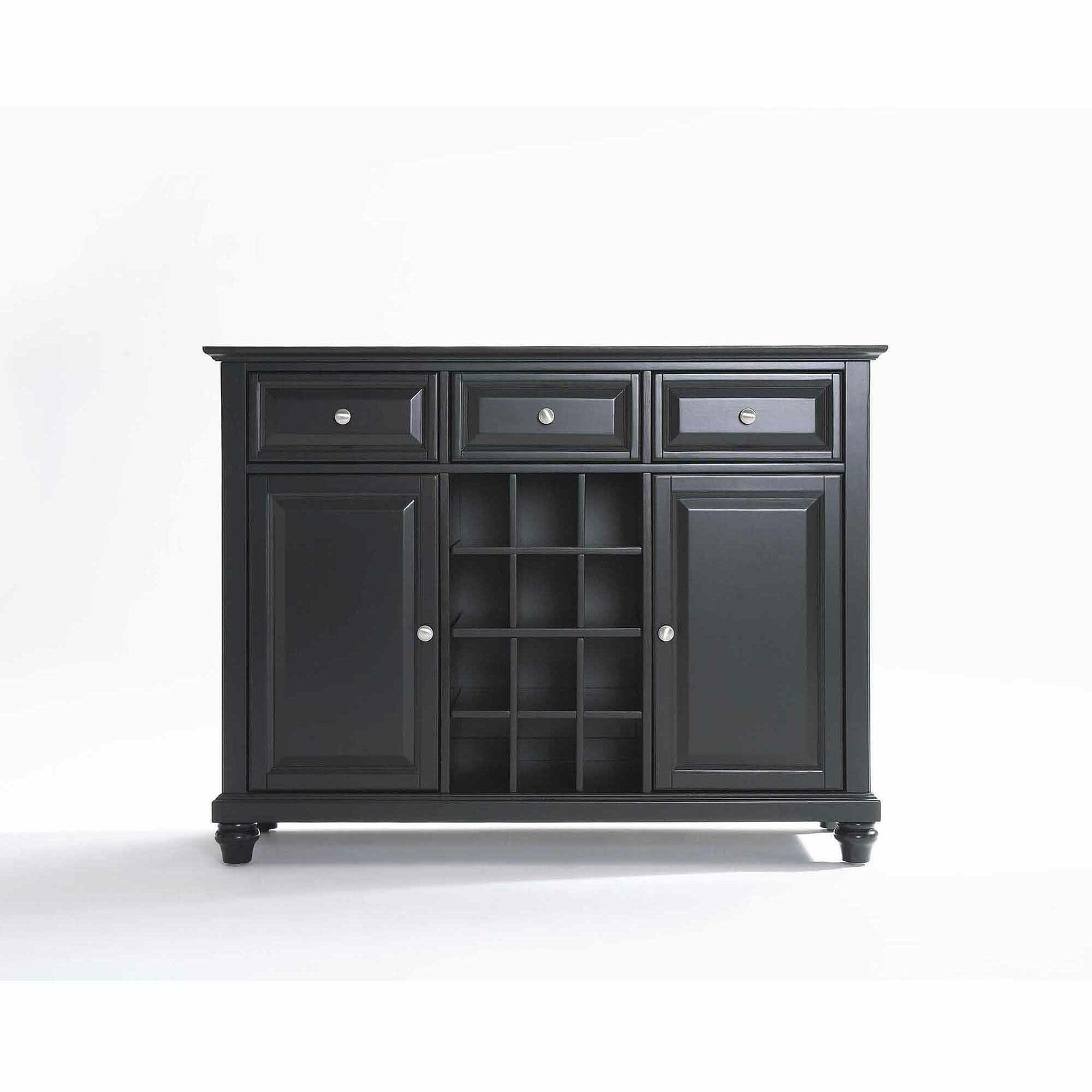 Most Up To Date Cher Sideboards Regarding Cambridge Buffet Server / Sideboard Cabinet With Wine Storage (Gallery 5 of 20)