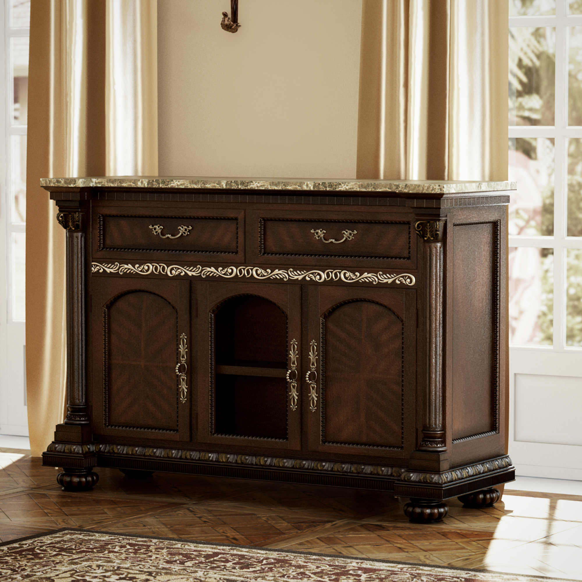 Most Up To Date Clearwell Sideboard Inside Weinberger Sideboards (View 6 of 20)
