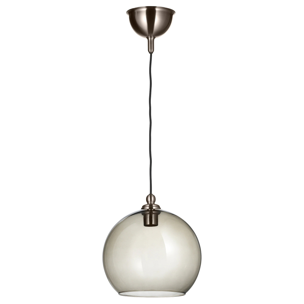 Most Up To Date Gattilier 3 Light Cluster Pendants Within Gothem / Jakobsbyn Pendant Lamp – Dark Gray, Smoked – Ikea (Gallery 16 of 20)