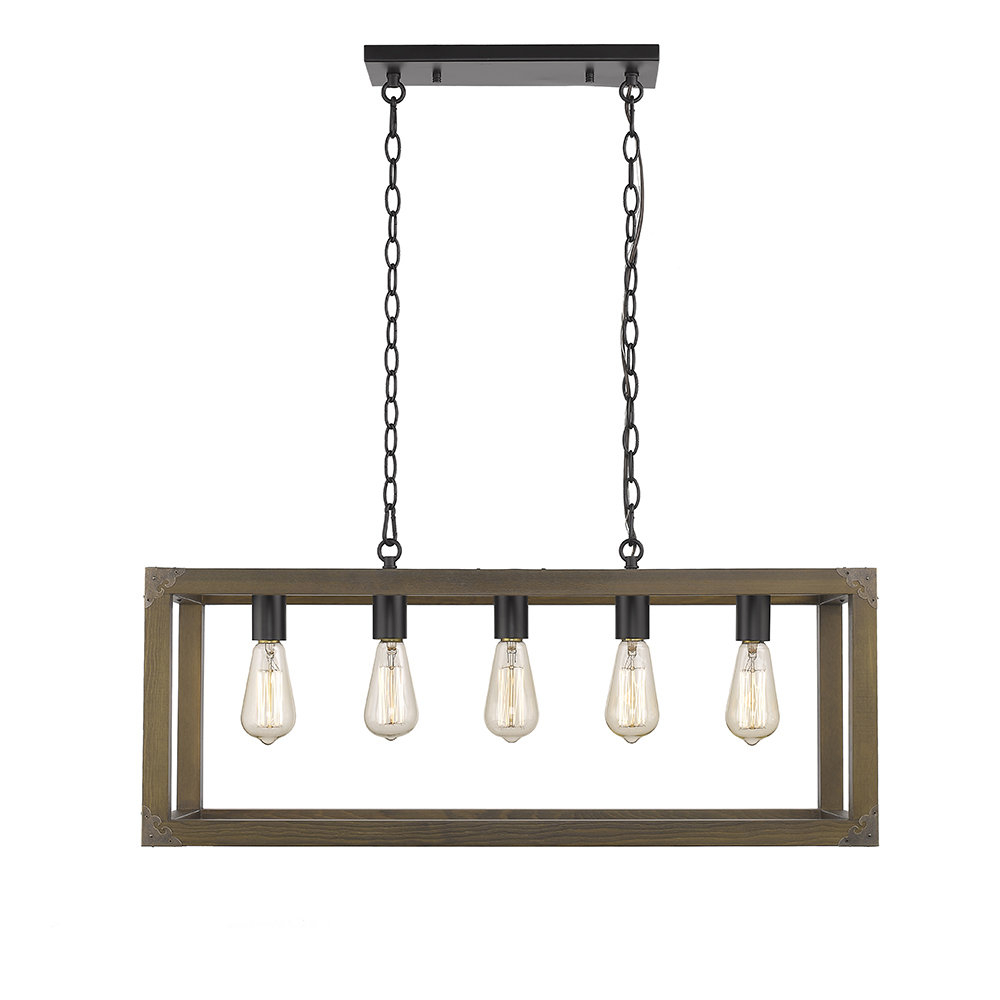 Most Up To Date Hinerman 5 Light Kitchen Island Pendants With Sawyer Ii 5 Light Kitchen Island Pendant (View 13 of 20)