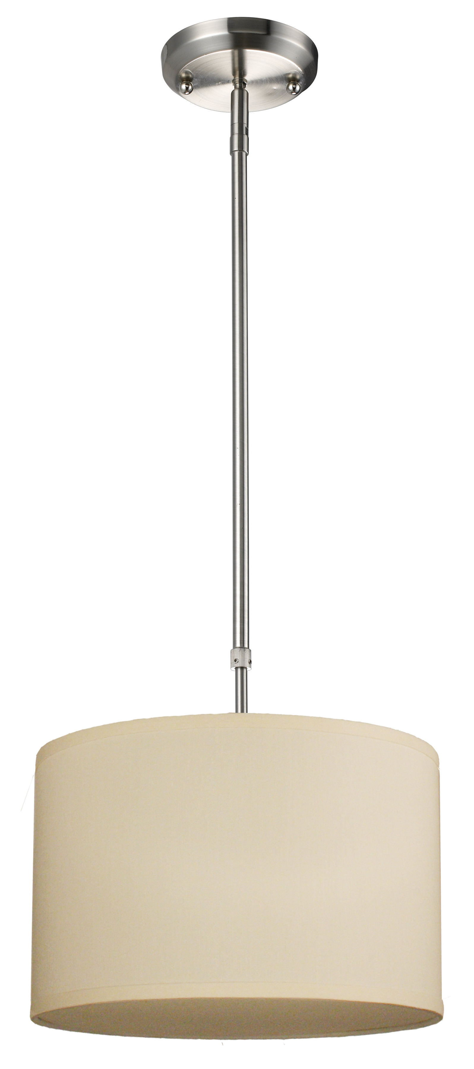 Most Up To Date Kasey 1 Light Single Drum Pendant Inside Kasey 3 Light Single Drum Pendants (Gallery 11 of 20)