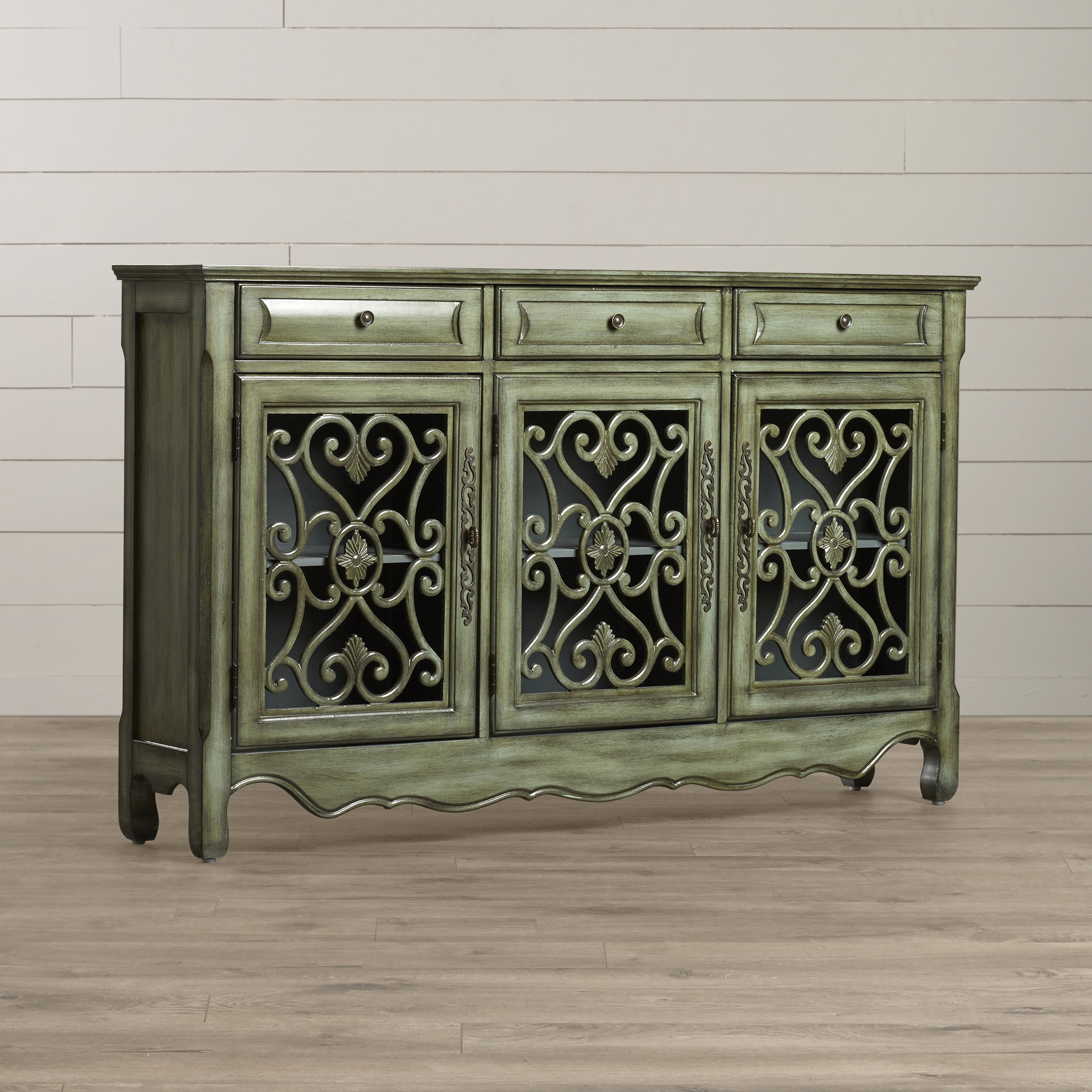 Most Up To Date Lark Manor Mauzy Sideboard Inside Mauzy Sideboards (Gallery 7 of 20)