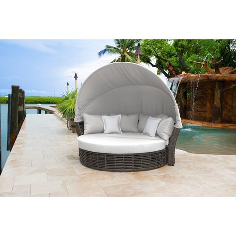 Most Up To Date Leiston Round Patio Daybeds With Cushions Intended For List Of Pinterest Patio Daybeds Beds Images & Patio Daybeds (View 14 of 20)