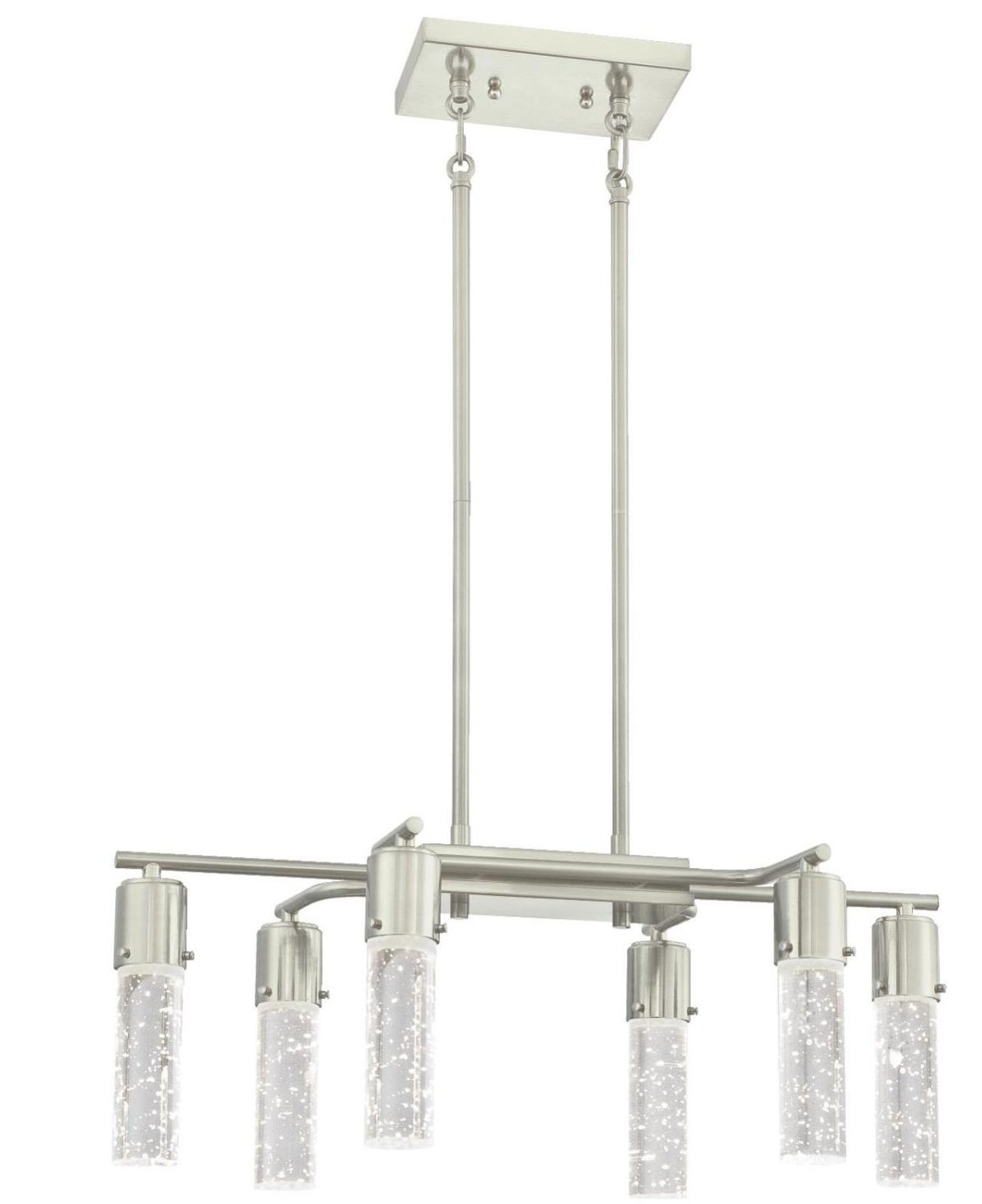 Most Up To Date Lumberton 6 Light Shaded Chandelier Intended For Lynn 6 Light Geometric Chandeliers (View 16 of 20)