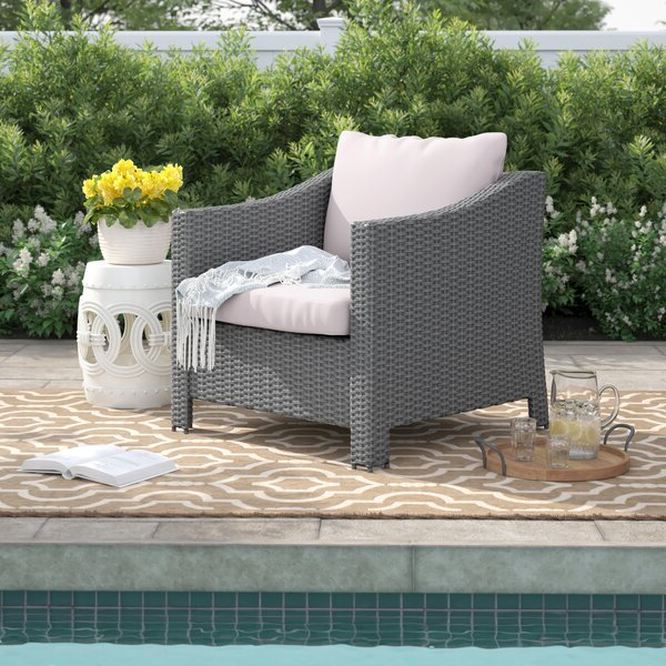 Most Up To Date Modern Hursey Corner Chair With Cushionthree Posts Inside Hursey Patio Sofas (Gallery 19 of 20)