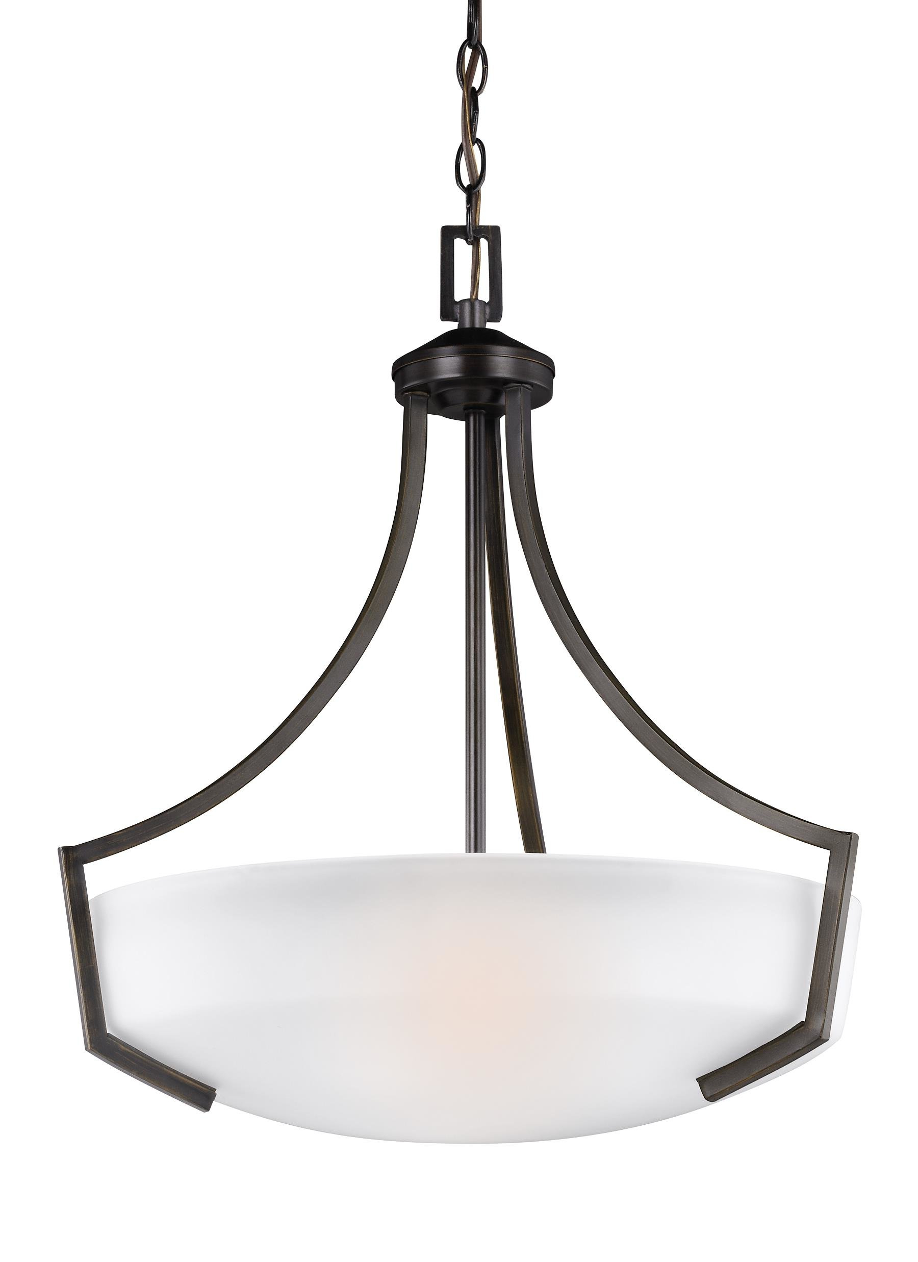 Most Up To Date Newent 3 Light Single Bowl Pendants Throughout Elkton 3 Light Bowl Pendant (View 10 of 20)