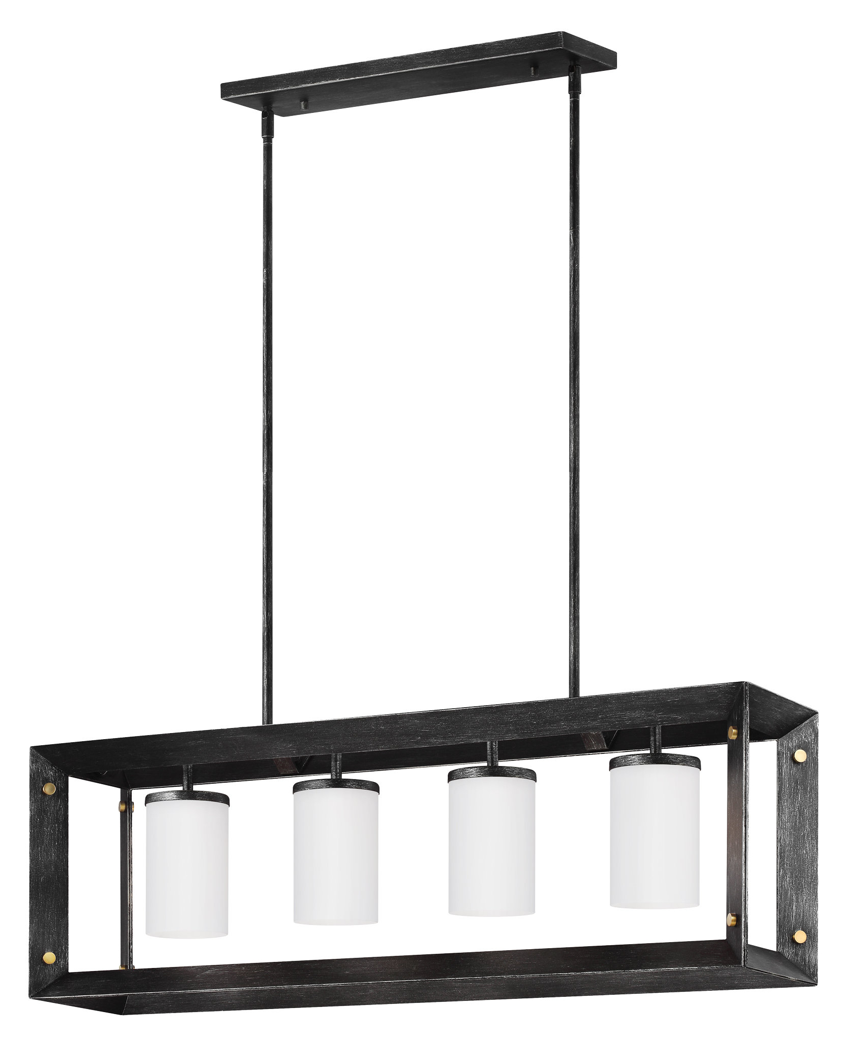 Most Up To Date Odie 8 Light Kitchen Island Square / Rectangle Pendants Regarding Neston 4 Light Kitchen Island Pendant (Gallery 17 of 20)