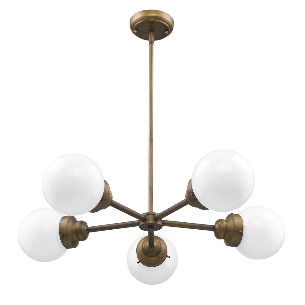 Most Up To Date Rabehi 5 Light Sputnik Chandelier Intended For Bautista 5 Light Sputnik Chandeliers (View 15 of 20)