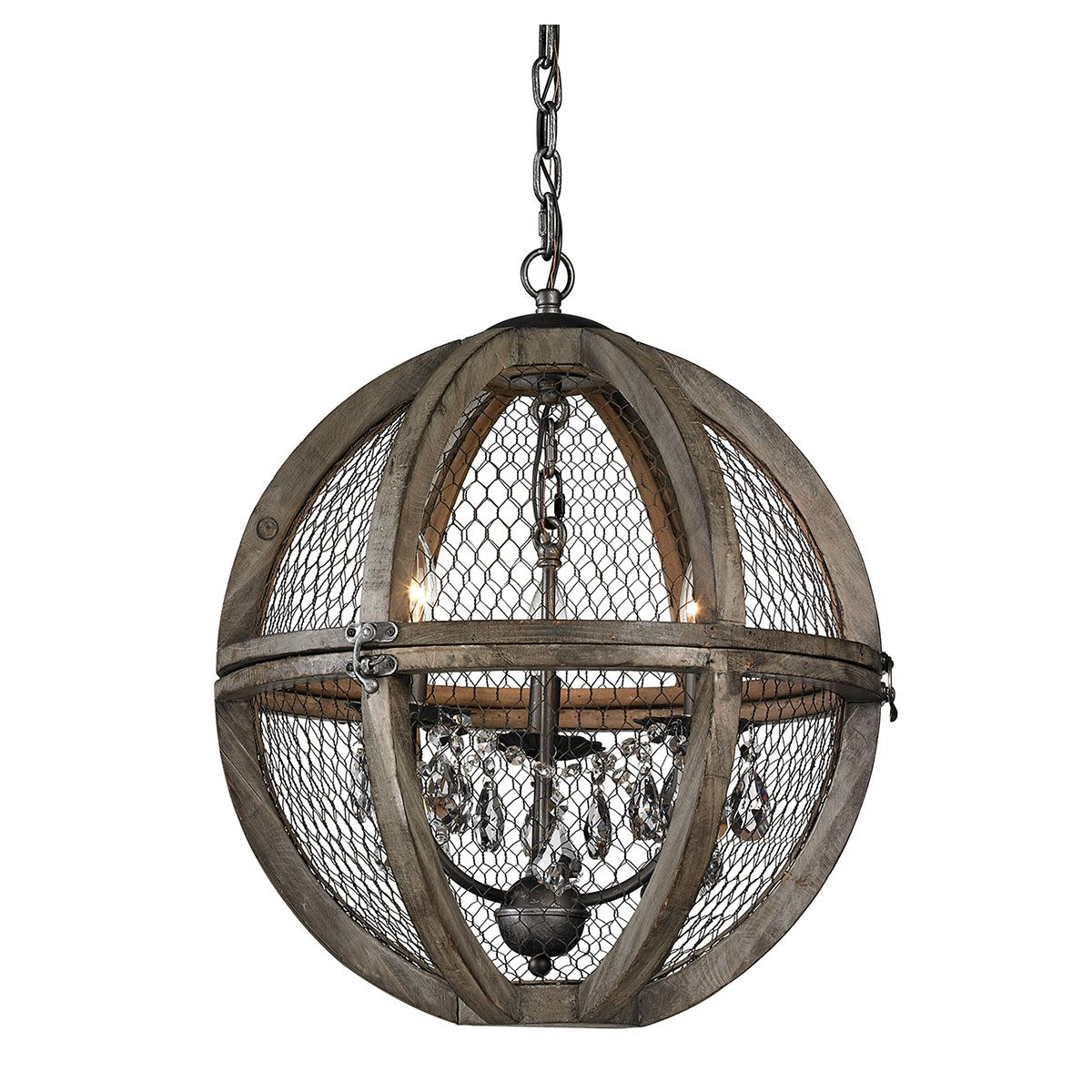 Most Up To Date Renaissance Wire Mesh Chandelier (View 16 of 20)