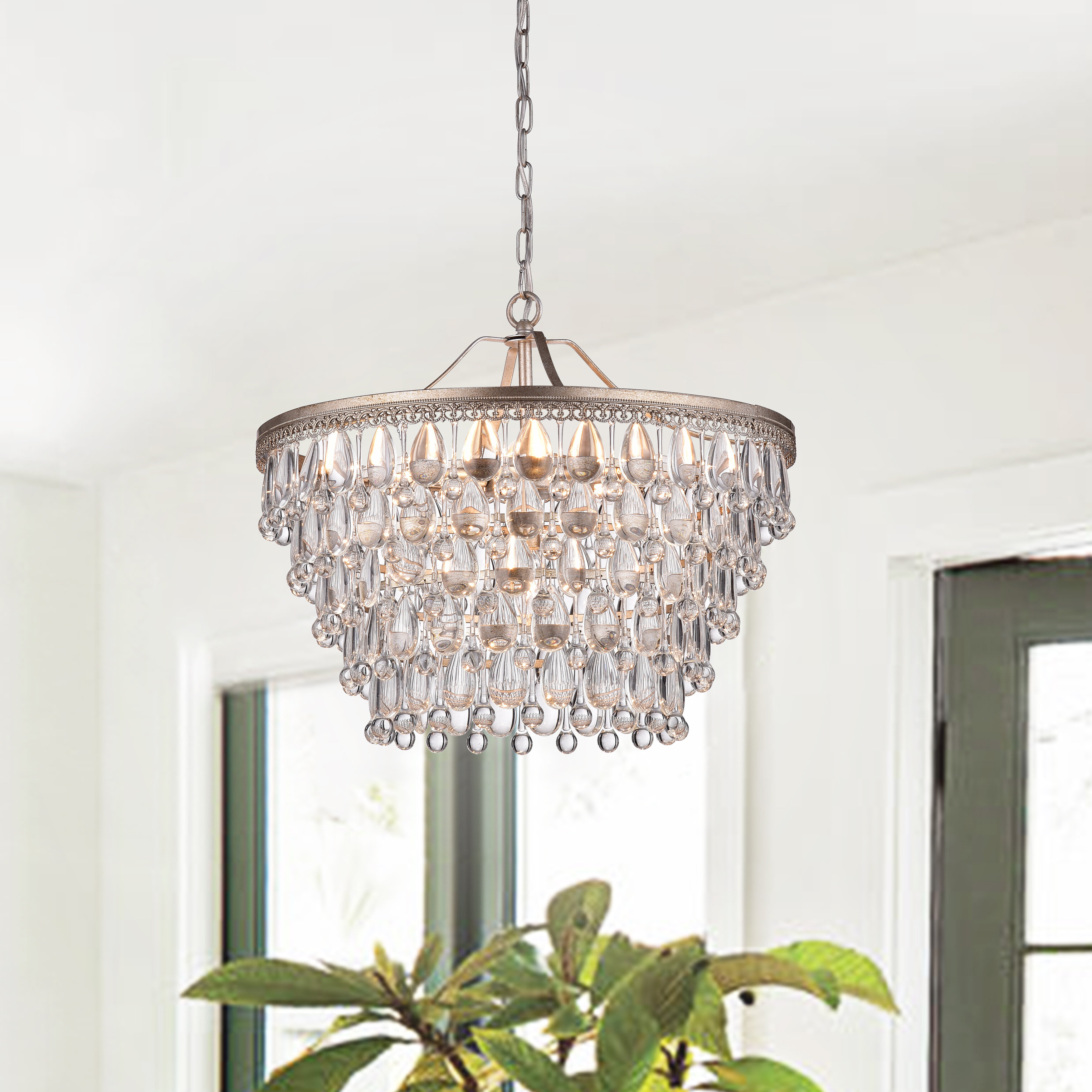 Most Up To Date Rosdorf Park Bramers 6 Light Novelty Chandelier Regarding Bramers 6 Light Novelty Chandeliers (View 12 of 20)