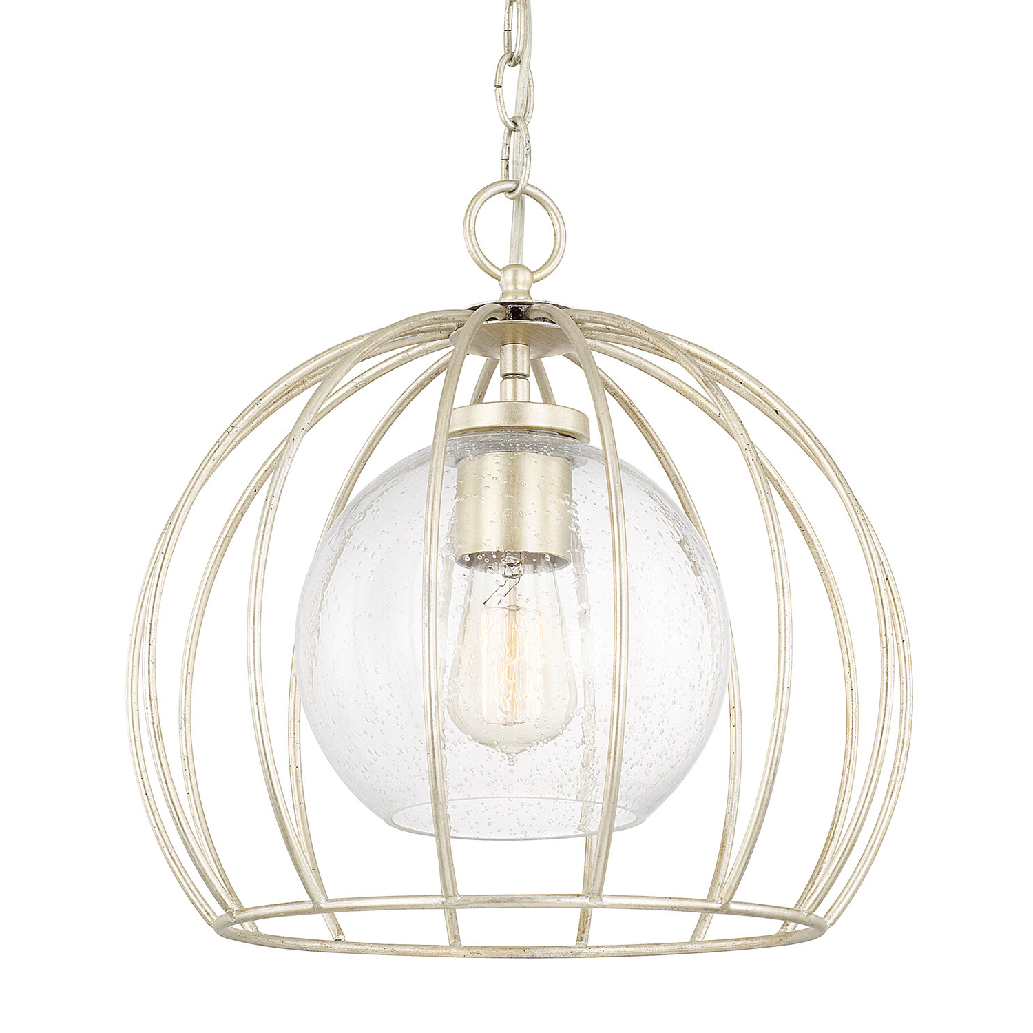 Most Up To Date Rossi Industrial Vintage 1 Light Geometric Pendants Regarding Aarons 1 Light Bowl Pendant (View 11 of 20)