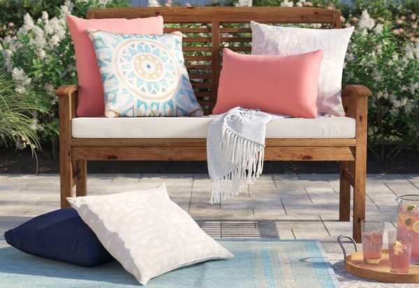 Most Up To Date Sol 72 Outdoor Redhill Patio Loveseat With Cushion (Gallery 18 of 20)
