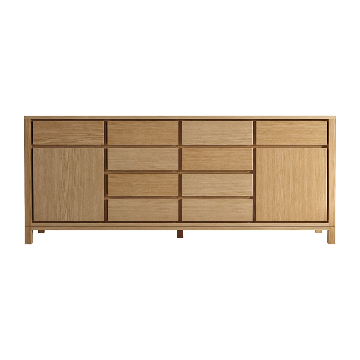 Most Up To Date Solid Sideboard 10 Drawers In Metro Sideboards (View 16 of 20)