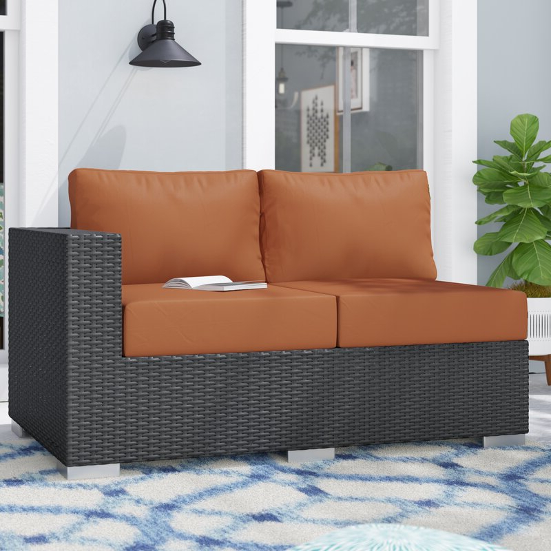 Most Up To Date Tripp Right Arm Loveseat Sectional Piece With Cushions For Tripp Loveseats With Cushions (View 6 of 20)