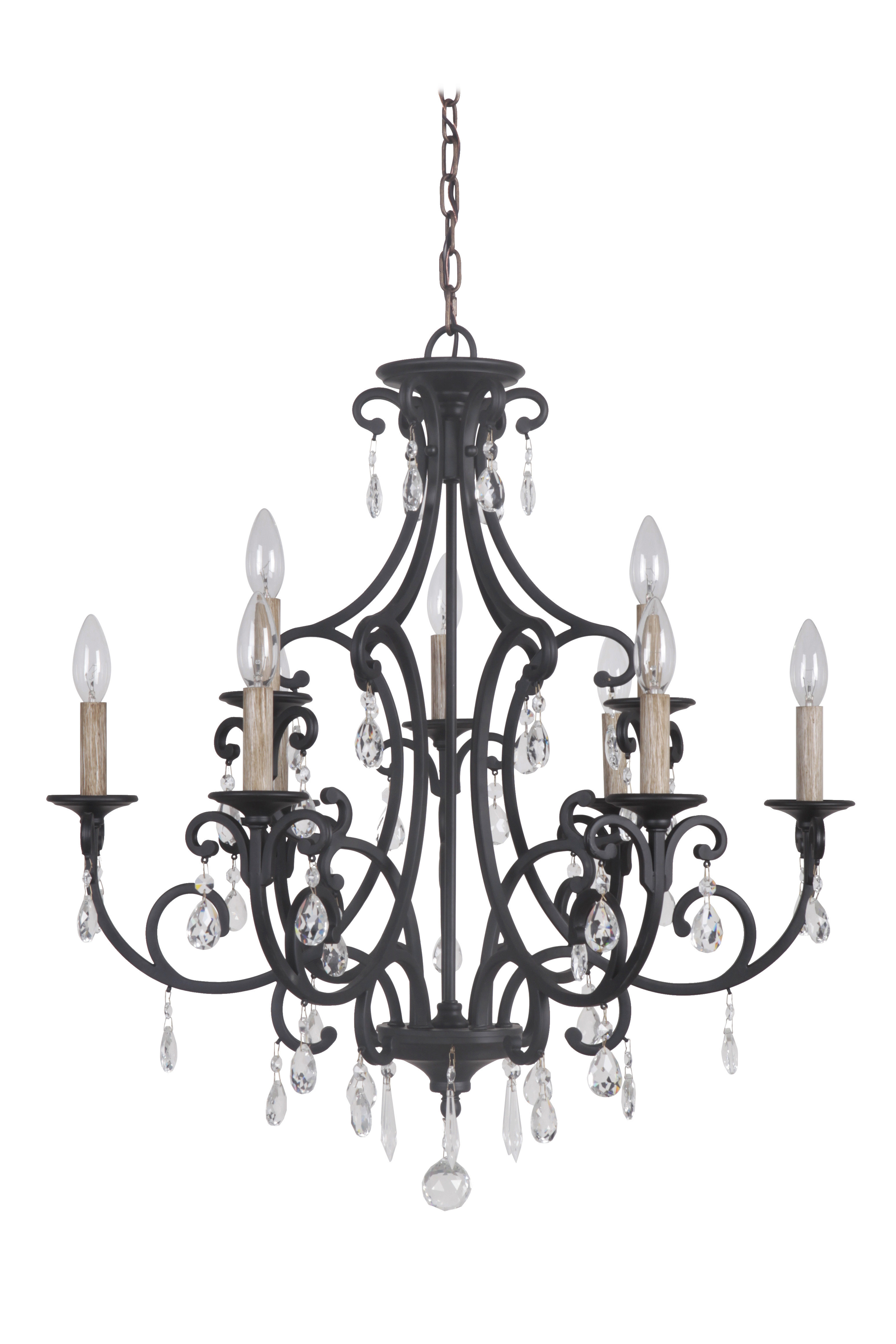 Most Up To Date Vanderbilt 9 Light Candle Style Chandelier Within Gaines 9 Light Candle Style Chandeliers (View 18 of 20)