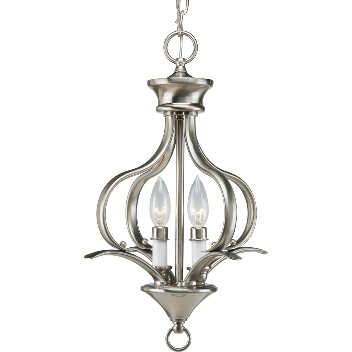 Most Up To Date Wanette 2 Light Foyer Pendant Throughout Warner Robins 3 Light Lantern Pendants (View 11 of 20)