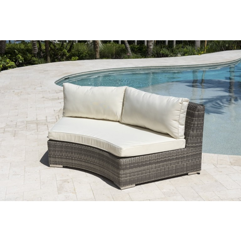 Most Up To Date Wicker Loveseats With Panama Jack Bridgehampton Curved Wicker Loveseat (View 18 of 20)