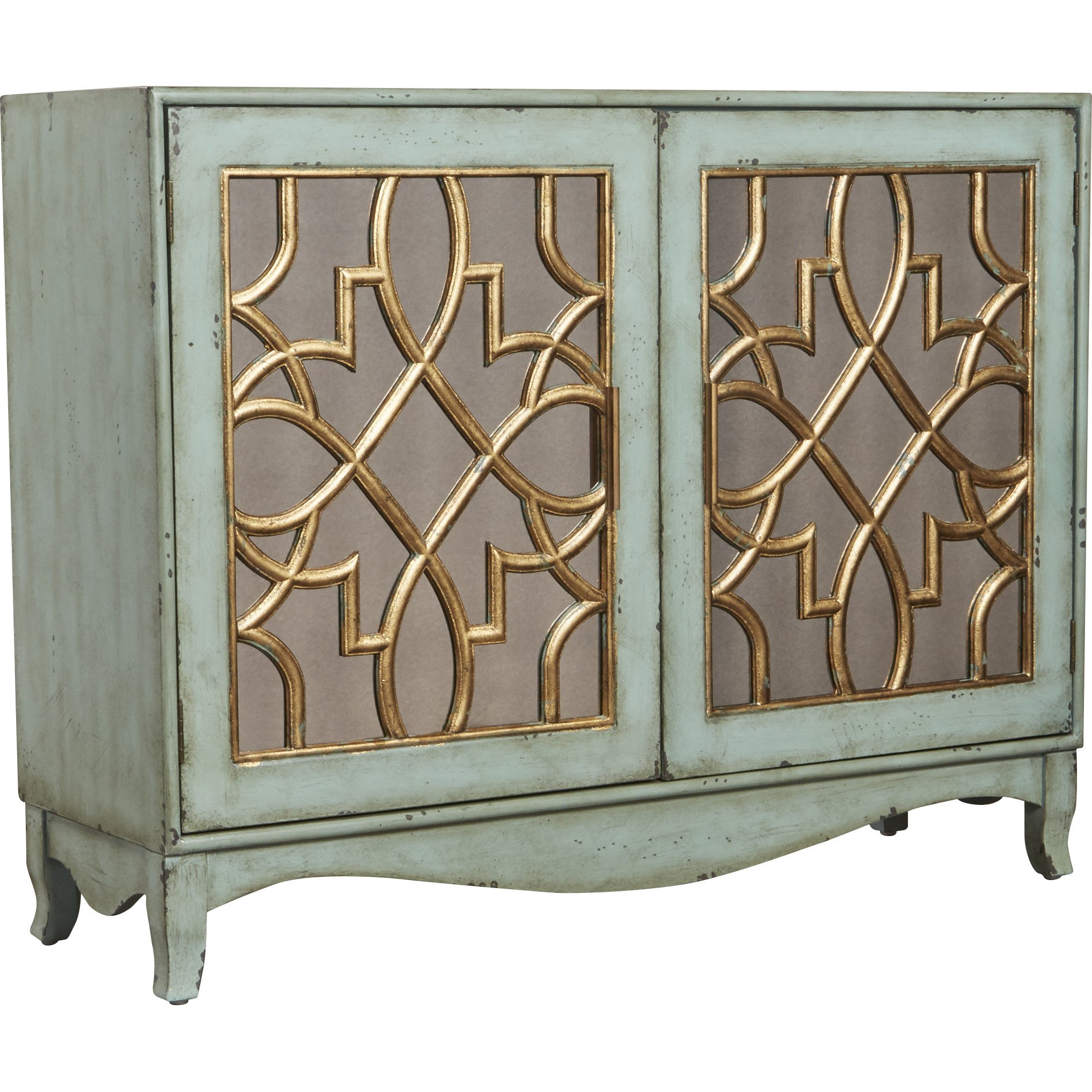 Most Up To Date World Menagerie Quiroz 2 Door Sideboard Reviews Queen Anne Pertaining To Haroun Mocha Sideboards (Gallery 18 of 20)