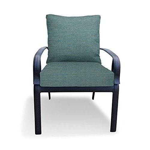 Muebles Y Accesorios De Patio 13024 2826 5Sb Within Fashionable Tim X Back Patio Loveseats With Cushions (View 12 of 20)