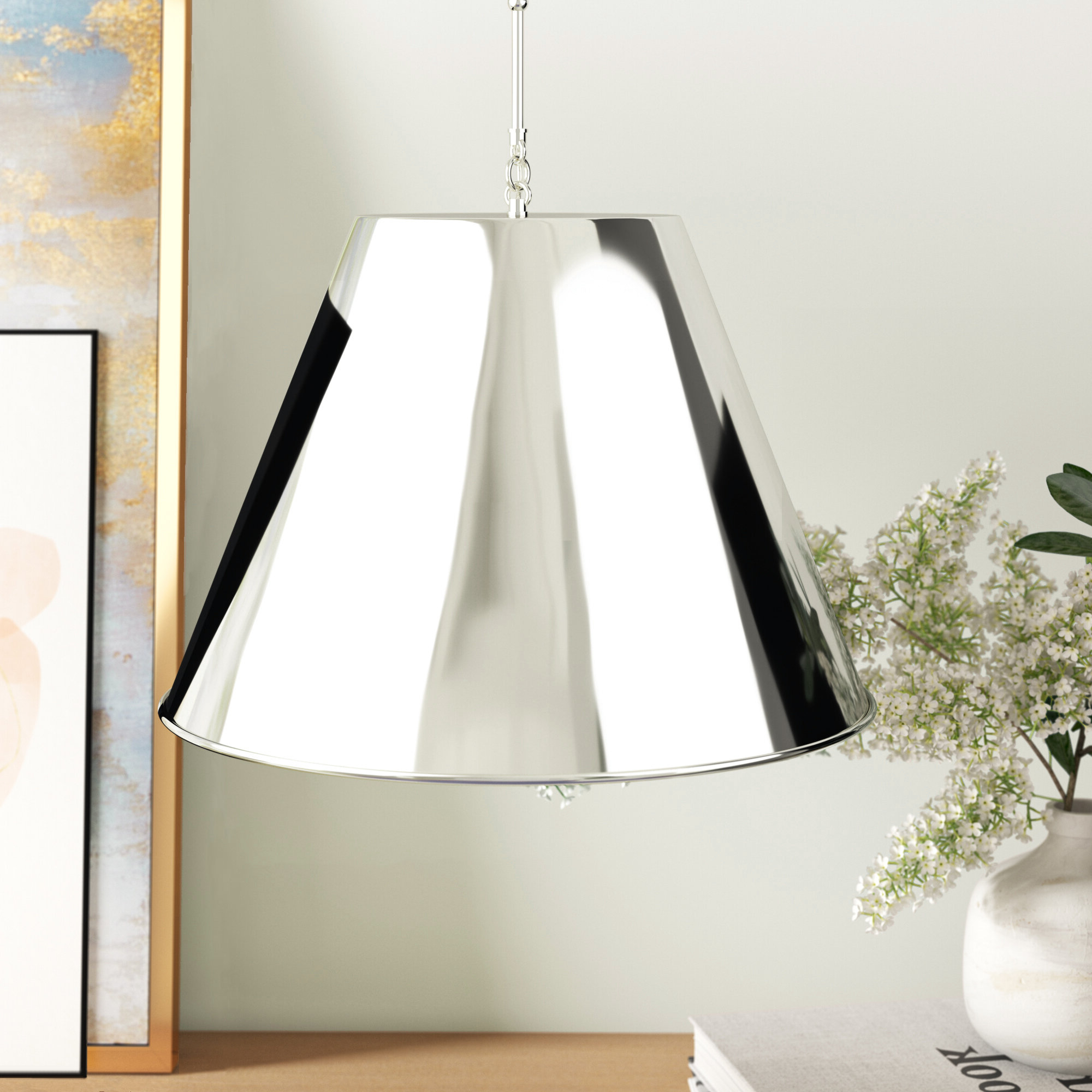 Nadeau 1 Light Single Cone Pendant Intended For 2019 Nadeau 1 Light Single Cone Pendants (View 8 of 20)