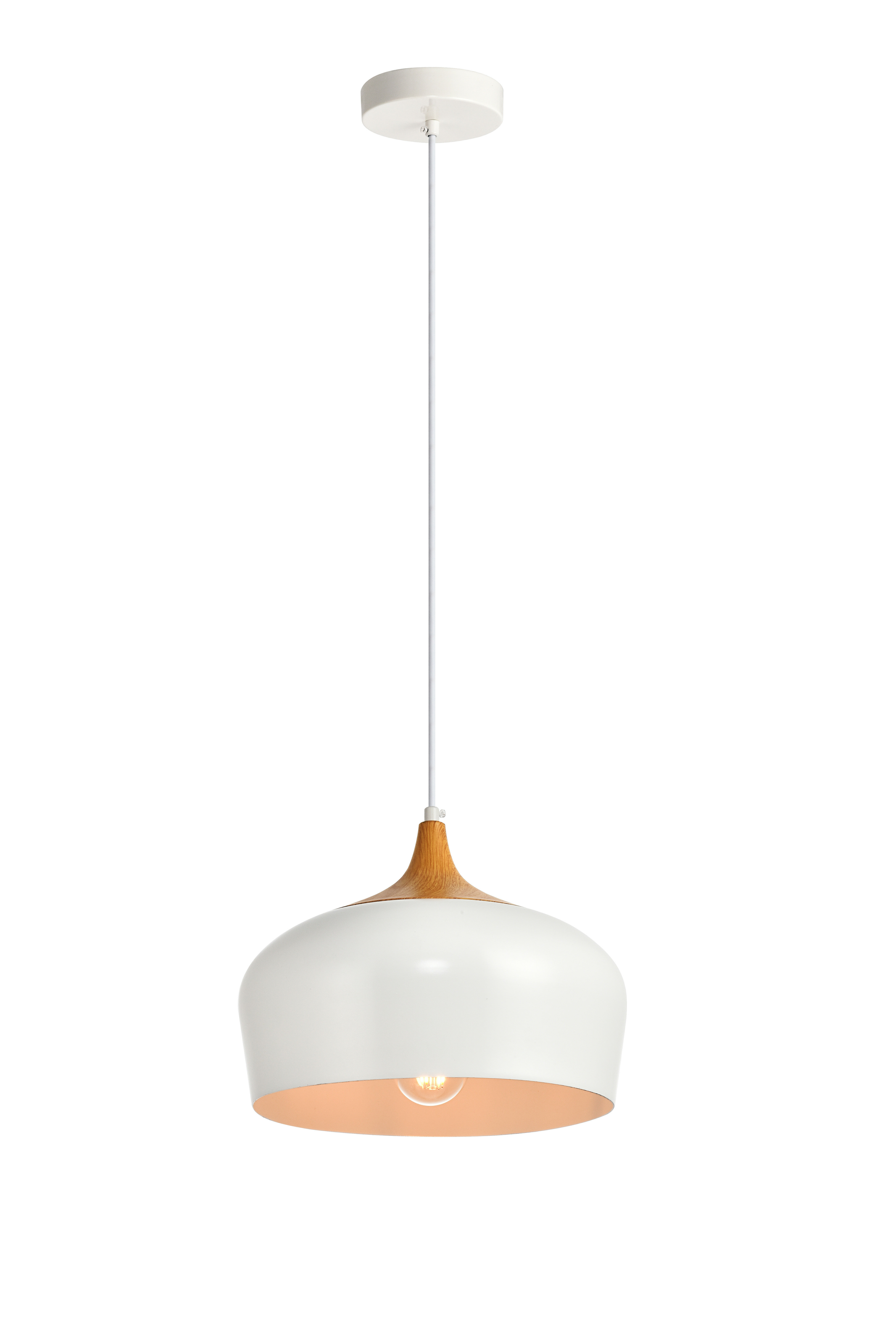 Nadeau 1 Light Single Cone Pendants With Most Up To Date Single Pendant Lighting You'll Love In  (View 13 of 20)
