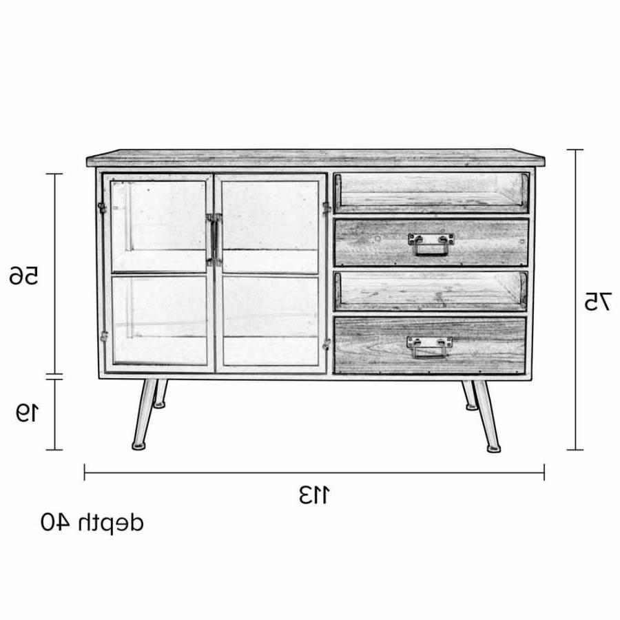 Naken Interiors Damian Sideboard Regarding Trendy Damian Sideboards (Gallery 4 of 20)